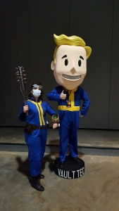 Sole Survivor and Fallout Bobblehead