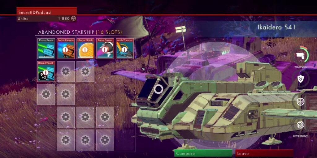 NMS New Ship